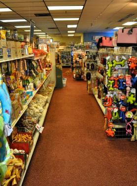 photo of the inside of Kee's Aquarium & Pets in Shelby Township, MI