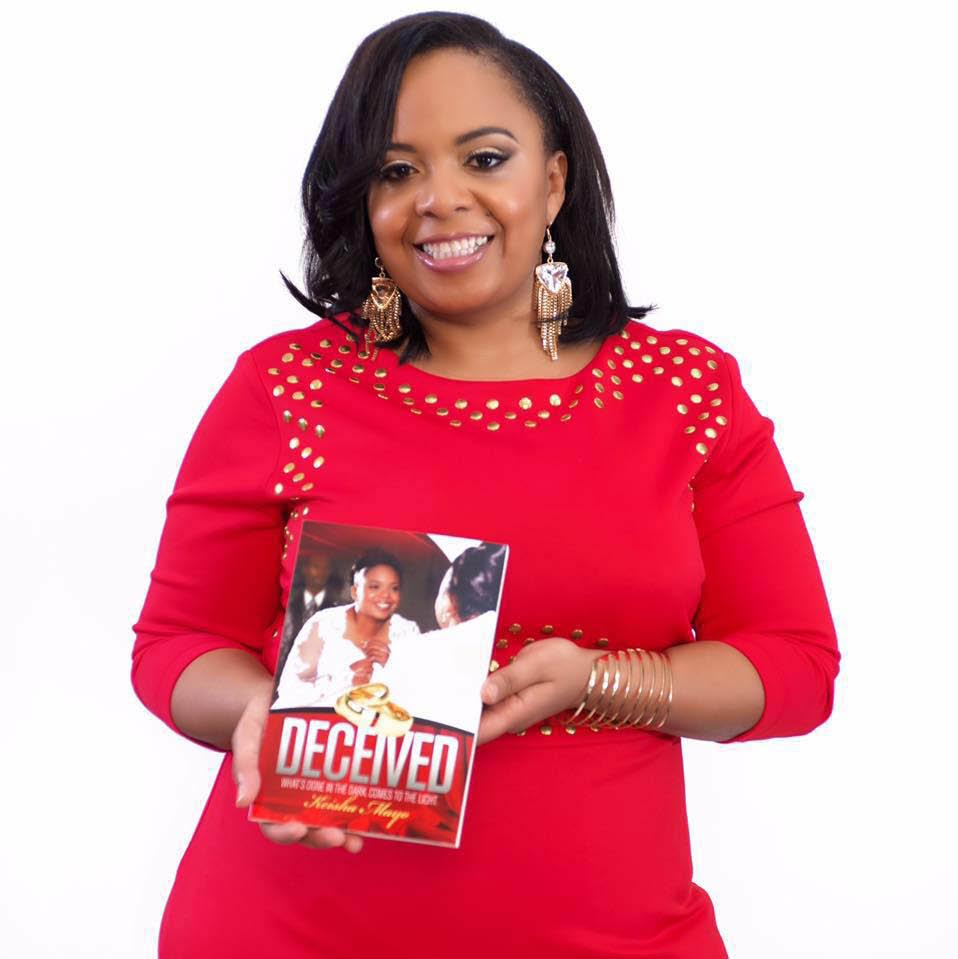 Author, Keisha Mayo - Non-Fiction book-