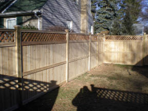 Wood Fencing Construction and Installation by Keith's Fence in Edison, NJ.