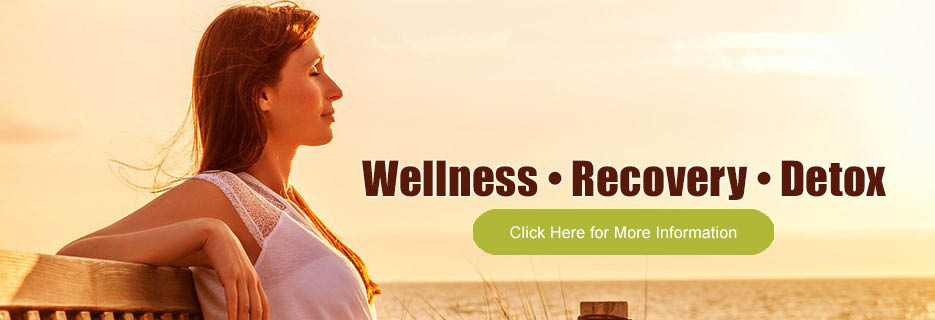 Wellness restoration, recovery care and detox treatments photo banner