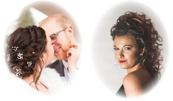 Kenneth & Company Salon's hair stylists specialize in bridal styling and updos for any special occasion - Monroe, WA