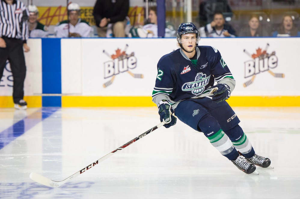Exciting WHL hockey from the Seattle Thunderbirds in Kent, WA