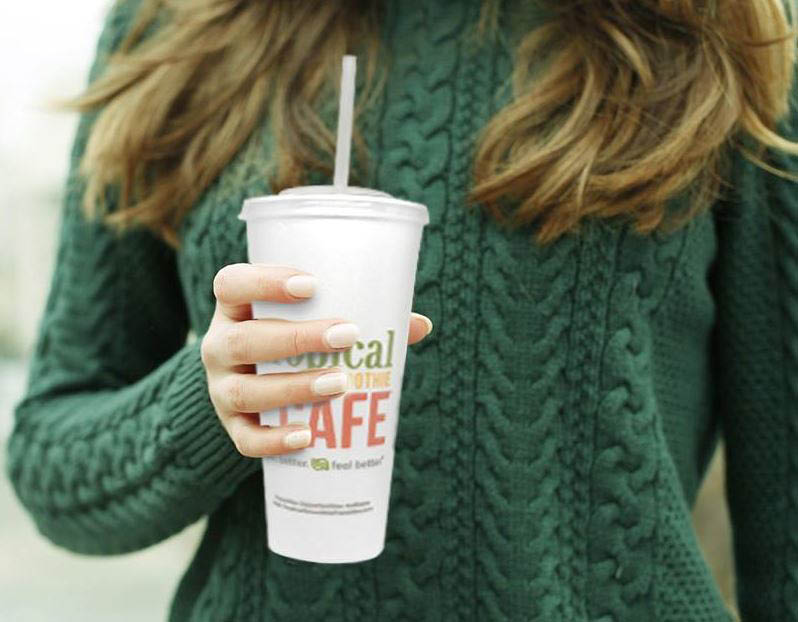 Tropical Smoothie Cafe in Kent, Washington serves up yummy smoothies and delicious food