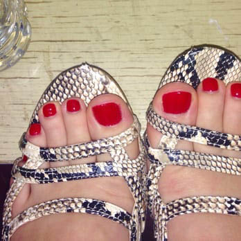 Spa pedicure from Keratin Nails and Spa in Lynnwood, Washington