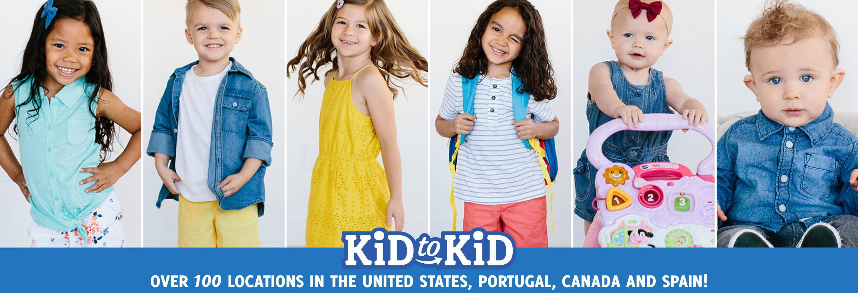 Kid to Kid in Kent, WA banner image - the best of kids' resale - get paid for kids' stuff