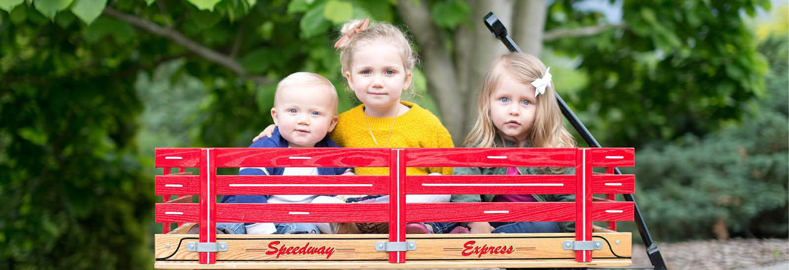 kids in wagon reruns for weeones west chester ohio