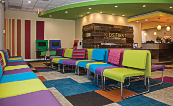 Let our team create a safe, fun loving, and interactive environment for your family. Our new kid friendly office is a great place to call your new dental home.