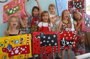 Kids birthday parties at  Muse Paintbar King of Prussia, PA