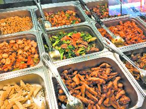 King Wok Express Buffet Foods Aurora