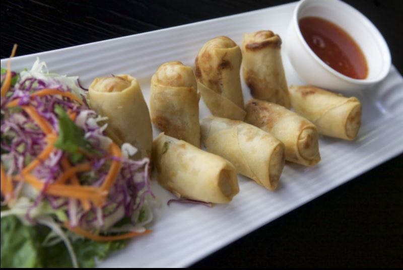 spring rolls; Thai restaurants in the Bay Area, CA