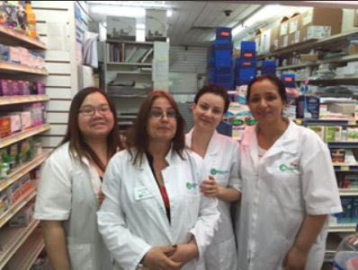 These beautiful people love to see you come through the door at King's Pharmacy