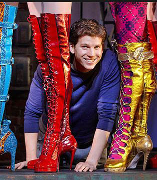 photo of actor with Kinky Boots