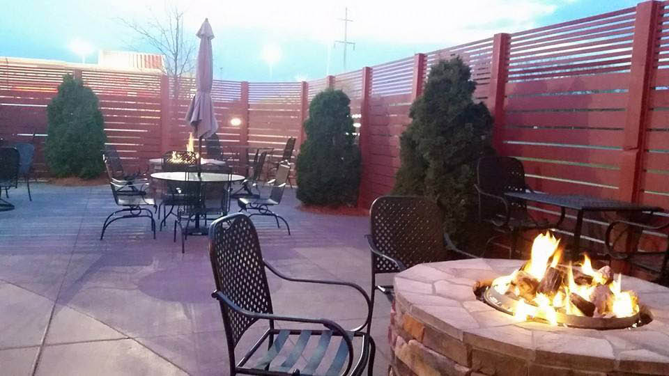 Kintaro's enjoyable outdoor patio is now open