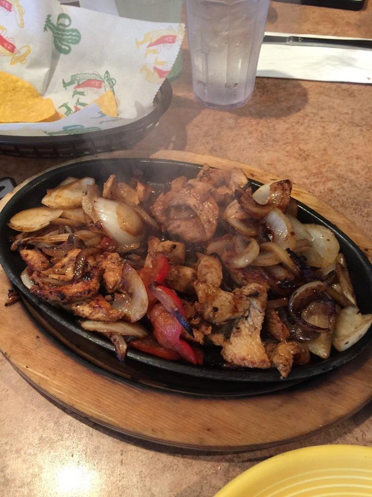 Delicious steak fajitas from Sebastian's Mexican Restaurant and Cantina in Kirkland, Washington