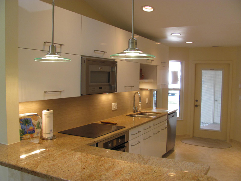 Kirkplan Kitchen Cabinets and designed over counter space