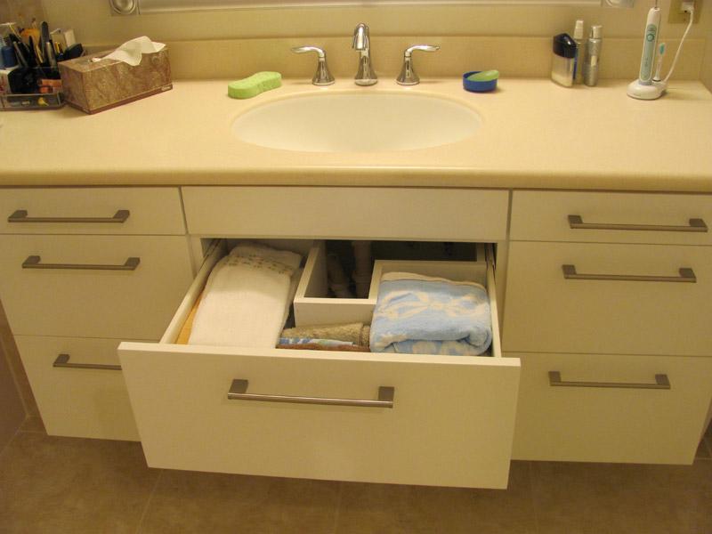 Custom Designed Bathroom Vanity from Kirkplan Kitchens Sarasota