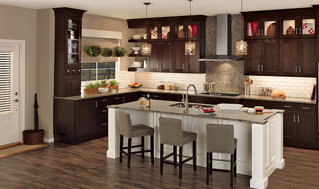 We offer many different kitchen remodeling designs