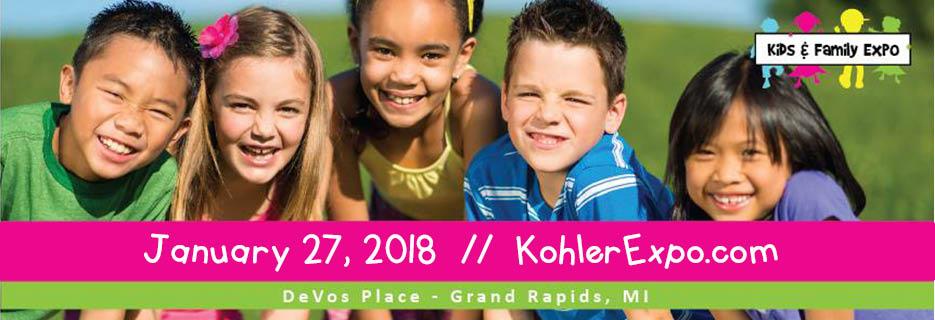 kohler expo show children familly kids expo