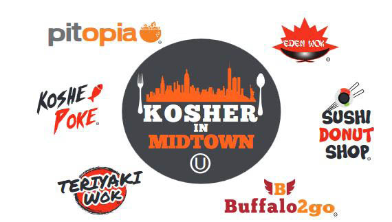 Kosher restaurants in Midtown