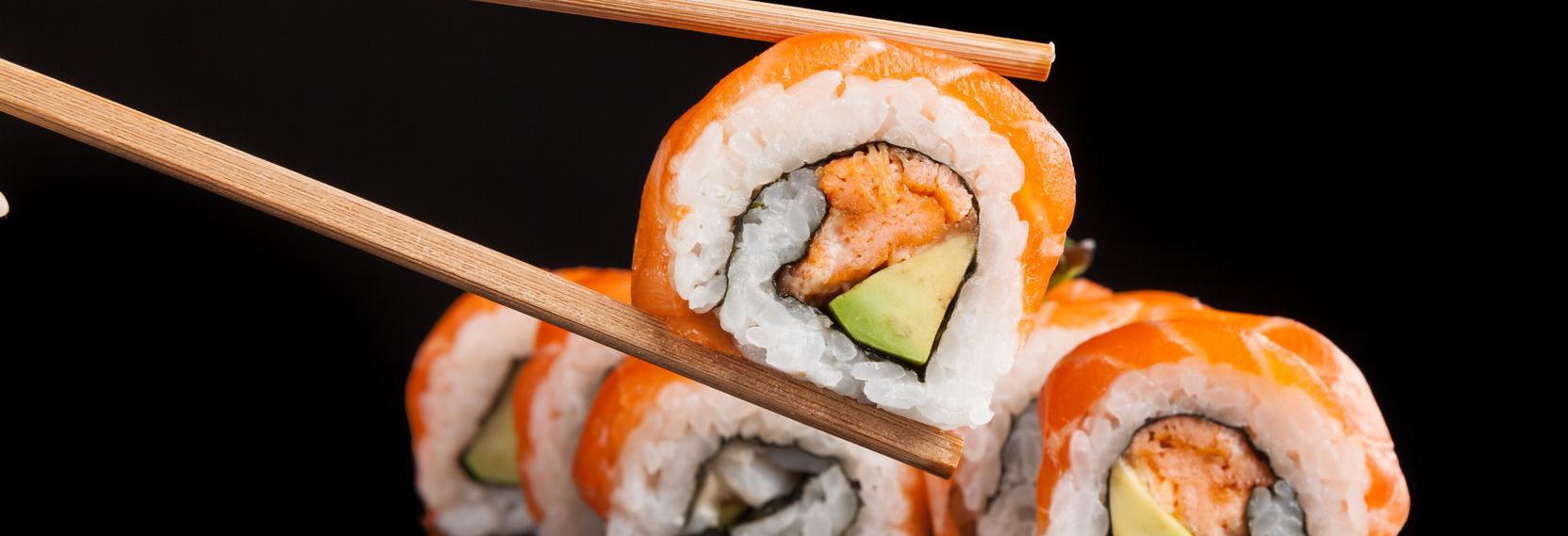 hibachi, sushi, asian, fish, chicken, dinner