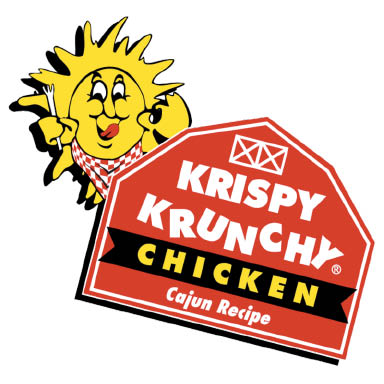 Krispy Krunchy Chicken logo - inside Bothell Mobil in Mill Creek, WA - gas station