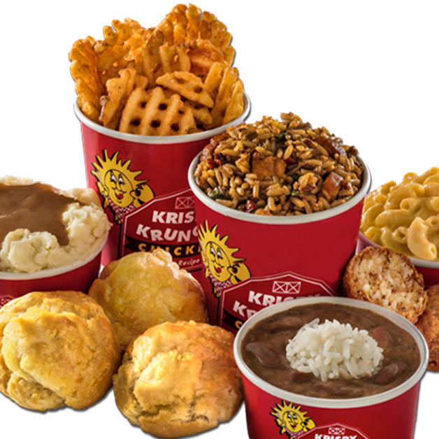 krispy krunchy chicken menu