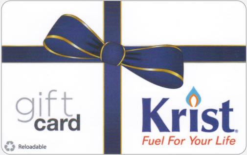 Krist gift card in Ashwaubenon