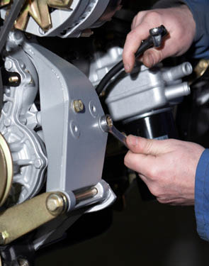 Kwik Kar is full auto repair facility.