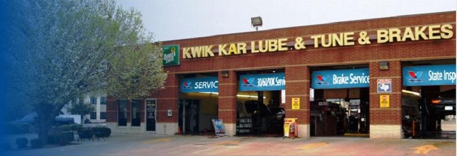 Kwik Kar on Legacy banner Plano, TX