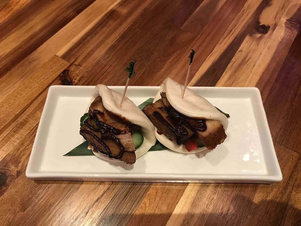 Our Pork Belly Steamed Buns are perfectly delicious.