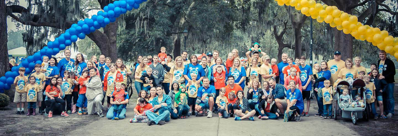 Savannah, Coastal Empire, children, family, support, Buddy Walk, Forsyth, Park, October