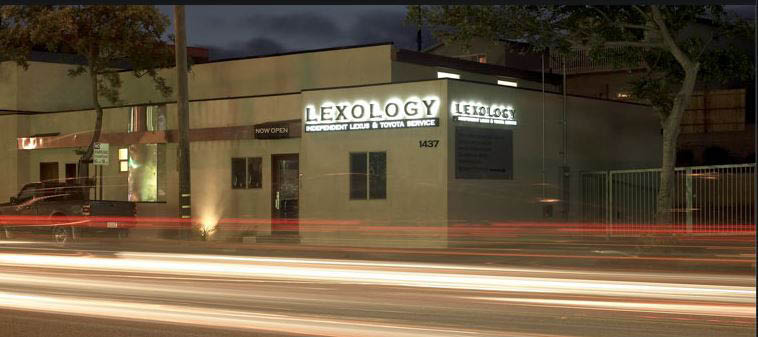 Wait in a bright and open lobby at Lexology in Redondo Beach.