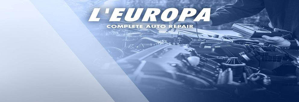 L'Europa Complete Auto Repair in North Providence, RI banner