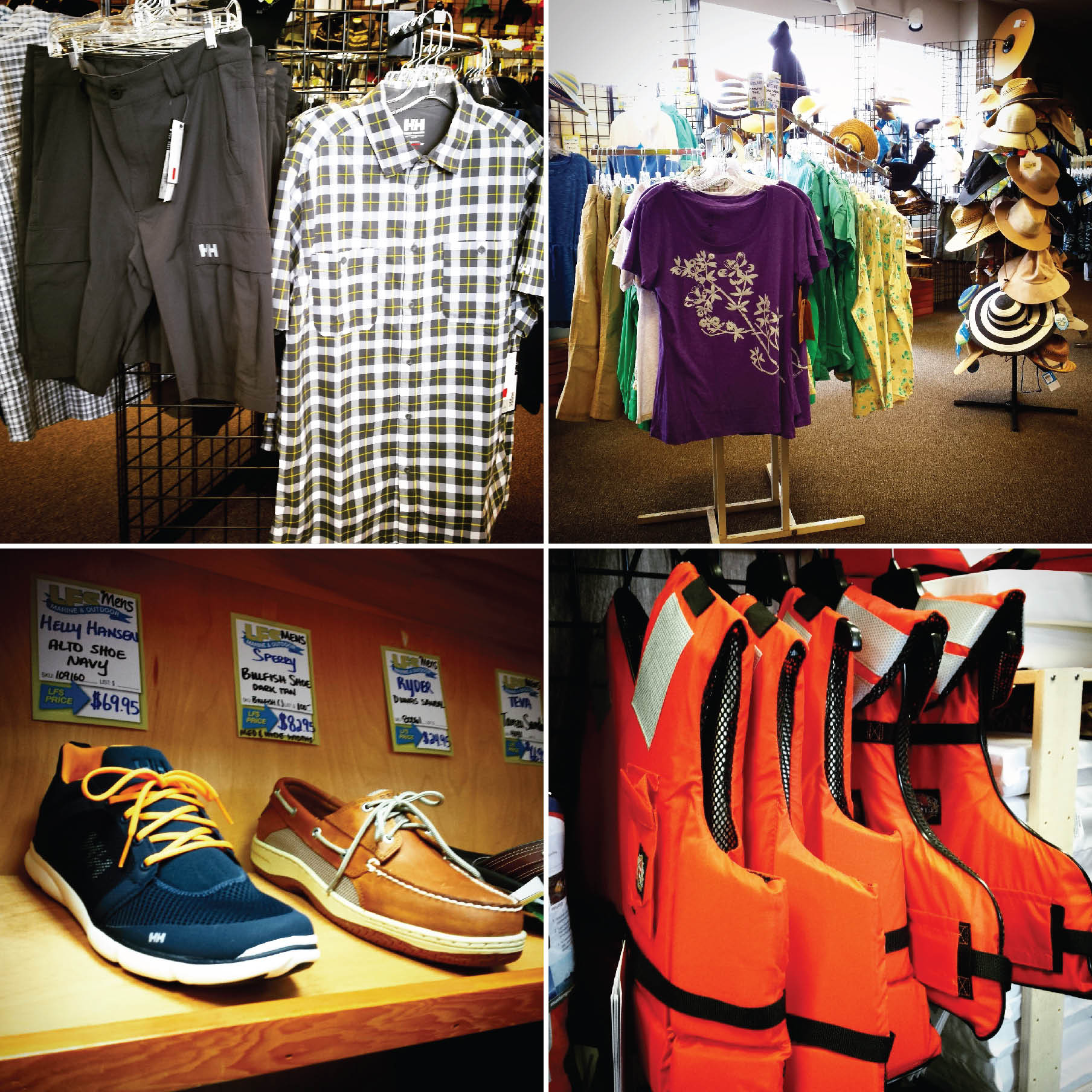 Bellingham local gear, clothing, shoes, PFDs supplier