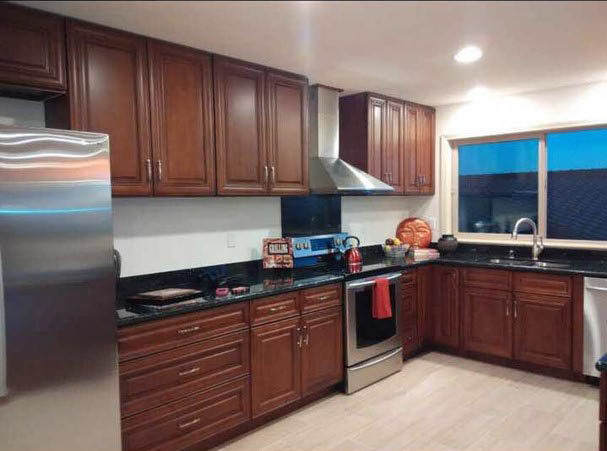 Kitchen remodel in Waipahu