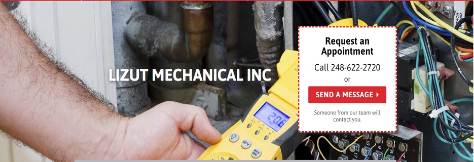 Lizut Mechanical Inc in Pontiac, MI banner