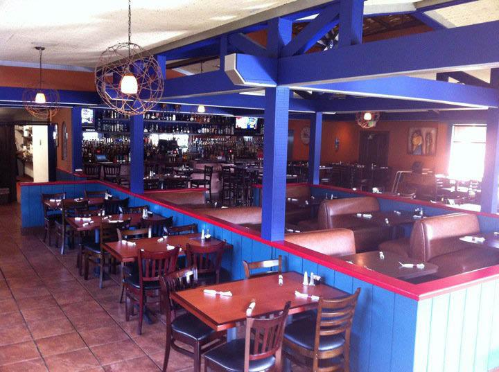 Dining area at La Pinata Mexican Restaurant, Pittsburg, CA; Mexican food