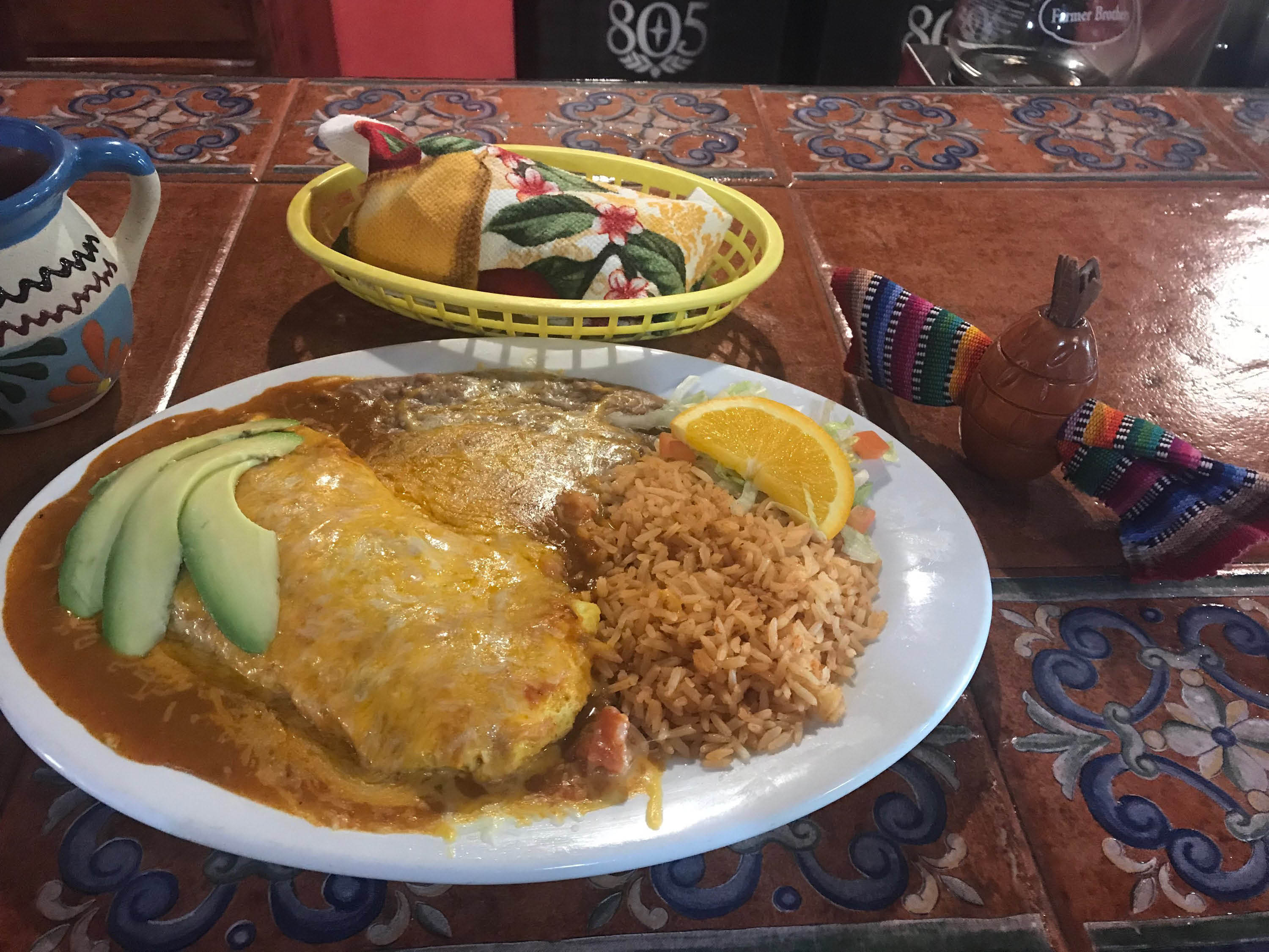 Authentic Mexican food near Oceano