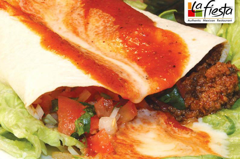 La Fiesta Ormond Beach & Port Orange Authentic Mexican Burrito