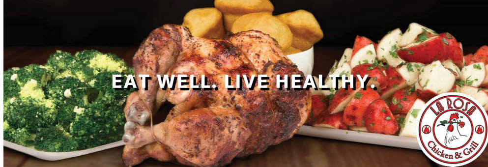 La Rosa, Chicken, Grilled chicken,restaurant,roasted chicken,deal, discount,balanced meal,eatery