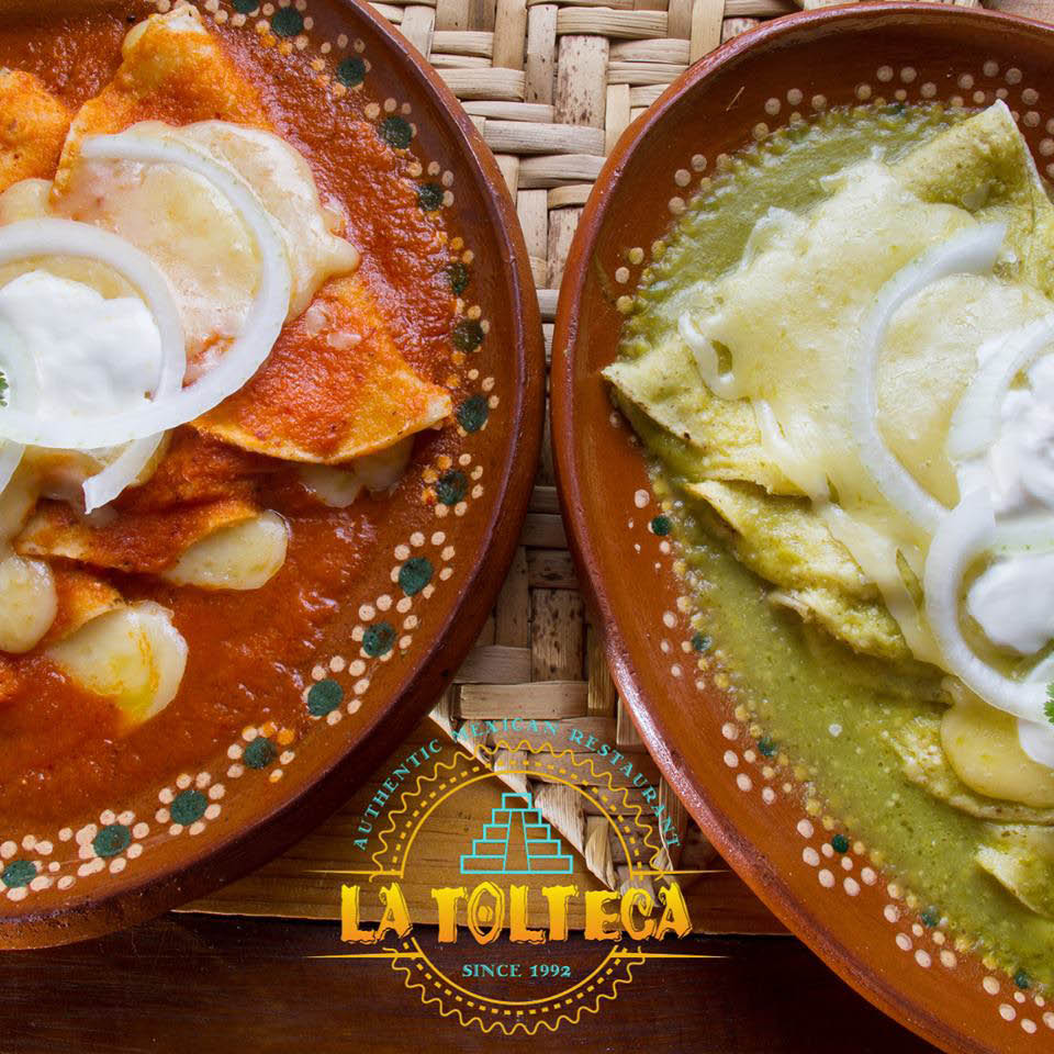 La Tolteca Authentic Mexican Restaurant Owings Mills Maryland enchiladas