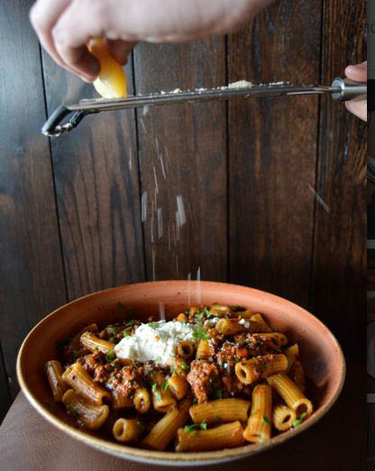 Get penne pasta and more at our Italian restaurant.