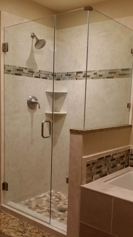 Lacey Glass at Home - custom glass shower doors - clear glass doors for showers - Lacey, WA