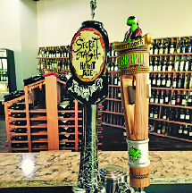 Lakefront Fine Wine and Spirits in frederick md has four different draft beers changed frequently.