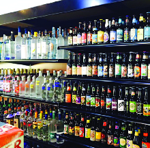 Enormous selection of craft beers