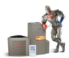 L and L Heating & Cooling Bryant Man will keep you cool this summer!