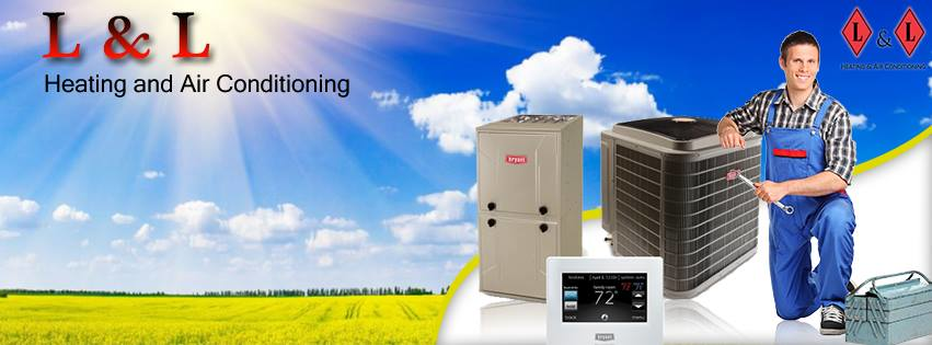 At L and L we sell and service a wide variety of Bryant heating and cooling products for your home