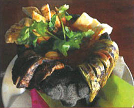 Las Fuentes Restaurant serves many authentic Mexican dishes.