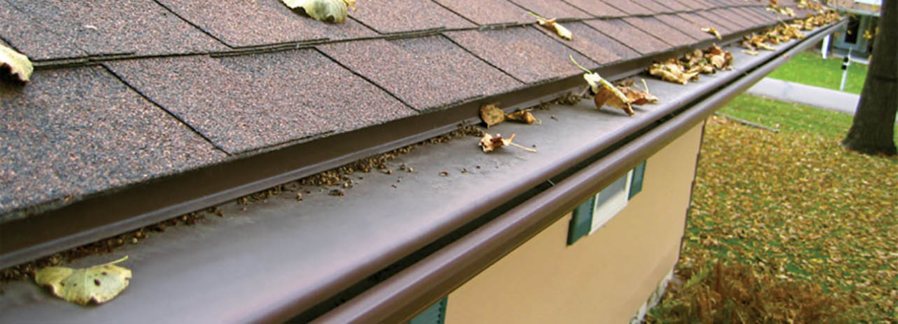 Seamless gutter installation by Spotless & Seamless Exteriors in Minneapolis