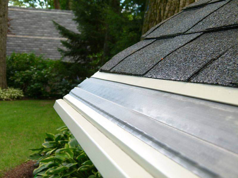 Leafless in Seattle - Mastershield Gutter Protection - nothing gets in - only water - no fir - no pine - no grit - no small stuff